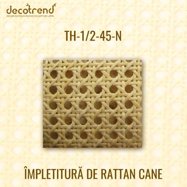 Impletitura Rattan Cane NATUR TH-1_2-45-N