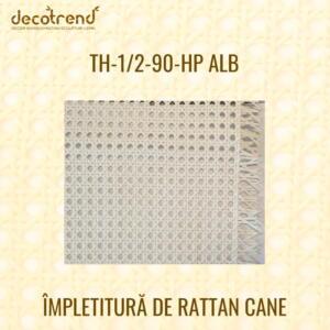 Impletitura Rattan Cane TH-1-2-90-HP alb
