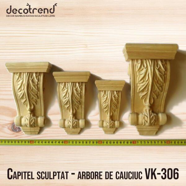 Capitel sculptat - arbore de cauciuc VK-306 - foto 1