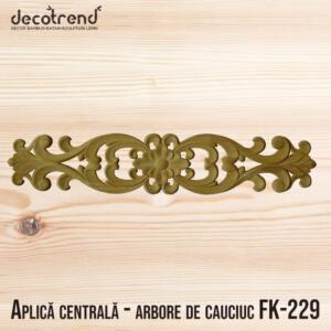 Decoratiune centrala - arbore de cauciuc FK-229