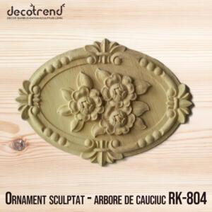 Ornament sculptat - arbore de cauciuc RK-804