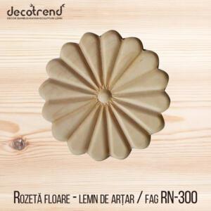 Rozeta floare ornament pentru mobila rn-300