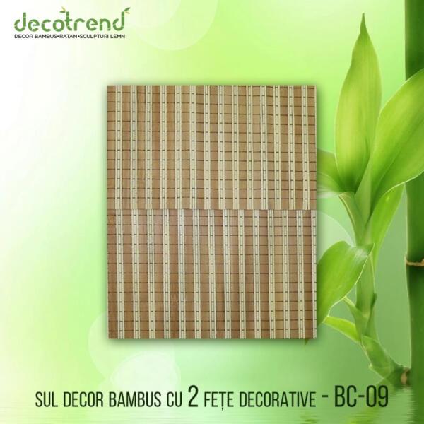 BC-09 Sul decor bambus cu 2 fete decorative 02