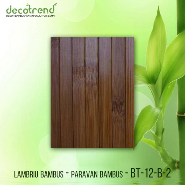 BT-12-B-2 Lambriu bambus - paravan bambus