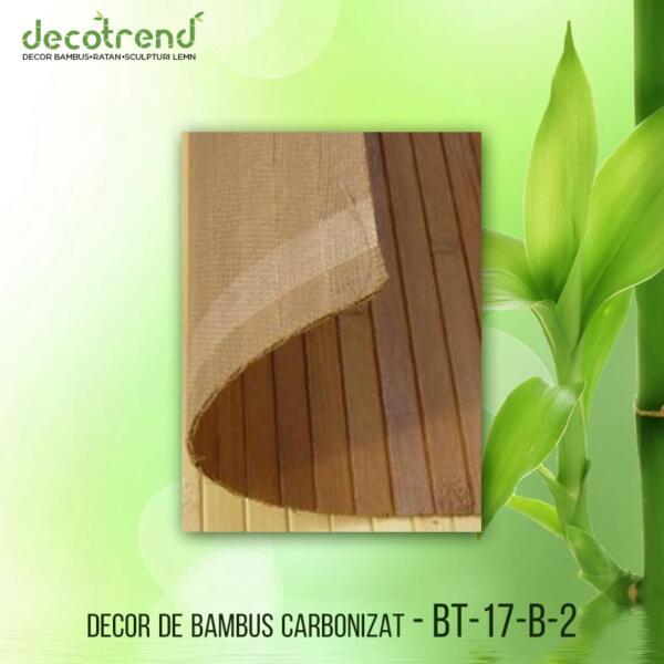 BT-17-B-2 Decor de bambus carbonizat