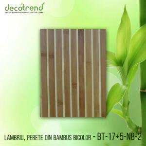 BT-17+5-NB-2 Lambriu, perete din bambus bicolor