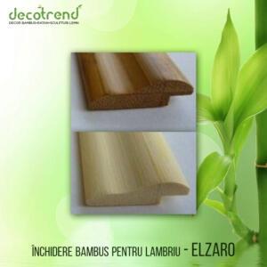 ELZARO Inchidere bambus pentru lambriu