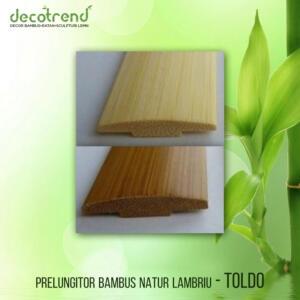 TOLDO Prelungitor bambus natur lambriu
