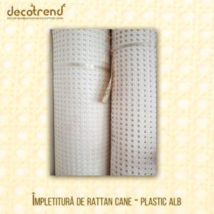 Impletitura Rattan Cane TH-1_2-90-P alb