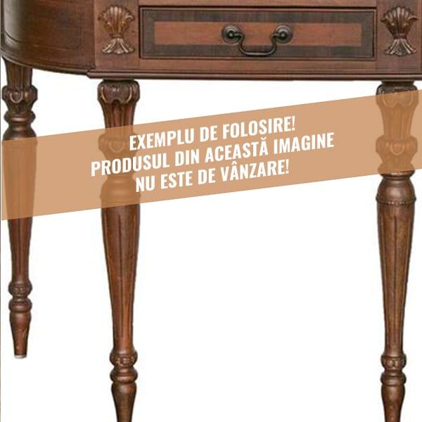 Exemple de folosire picioare lemn mobila sculptate 3