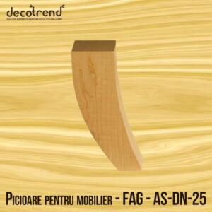Picioare mobila esenta de fag - AS-DN-25